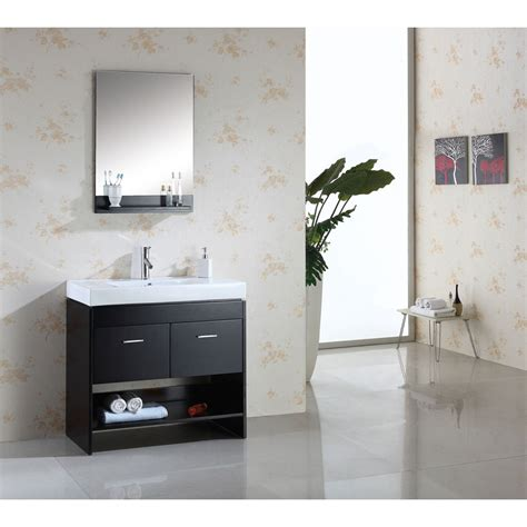 virtu bathroom accessories virtu usa gloria 36 quot single sink bathroom vanity