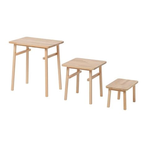 Ikea Satztische by Ypperlig Nesting Tables Set Of 3 Ikea