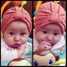 tutorial buat turban baby make a turban make it a delicious color and pattern too