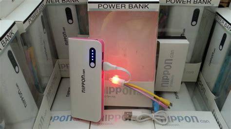 Power Bank Nippon jual power bank nippon 20000mah original garansi 2 tahun setara vivan hippo nippon power bank