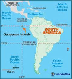 geography of galapagos islands landforms world atlas