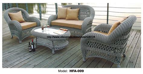 sofa sitzgruppe luxury handmake rattan outdoor sofa set garden patio