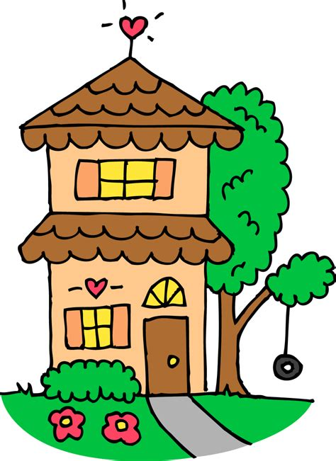 clipart home clip house clipartion