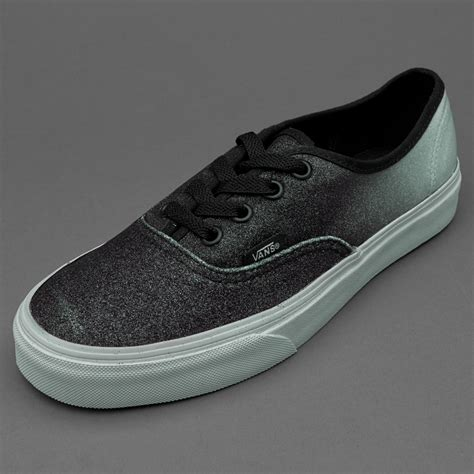 Sepatu Vans Authentic Black White Sz 39 44 Premium sepatu sneakers vans womens authentic 2 tone glitter silver
