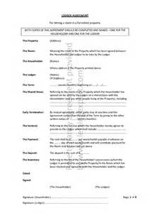 Free Lodger Agreement Template tenancy agreement sample doc