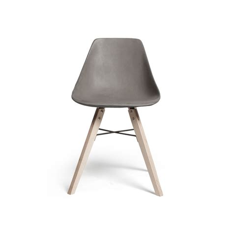 Concrete Chair by The Story The Hauteville Concrete Chair Collection