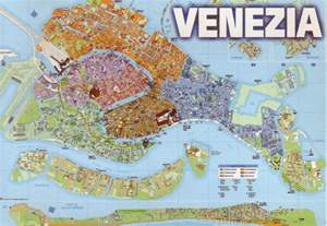 Venice Map Italy by The World In Postcards Sabine S Blog Venice Map Italy