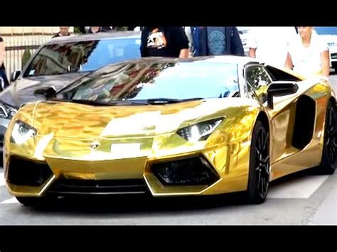 real gold cars dubai uae world s most expensive cars gold lamborghini