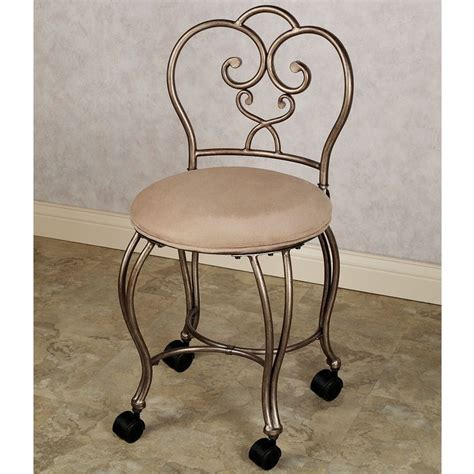 Vanity Chair On Wheels by Lecia Vanity Chair Vanity Chairs Chairs And Vanities