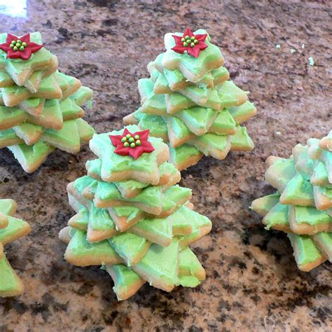 how to make stacked christmas tree cookies foodwhirl