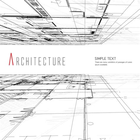 free architecture design architecture background design vector free