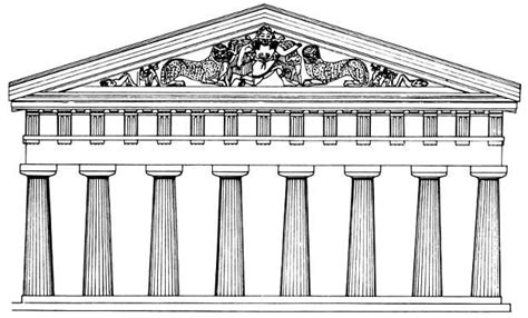 ancient roof pediment history x technological innovation in ancient greece