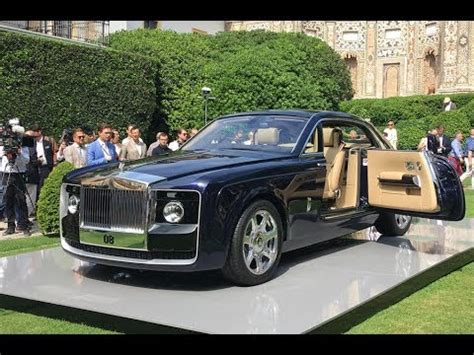 rolls royce sweptail 13 million world s most expensive