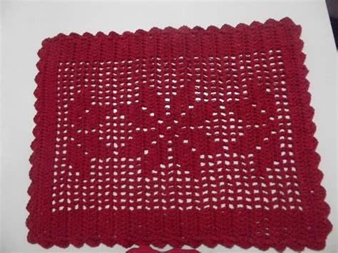 tapetes de croche b43964 tapetes de crochaa pictures to pin on tapete retangular vermelho o par entrelinhas