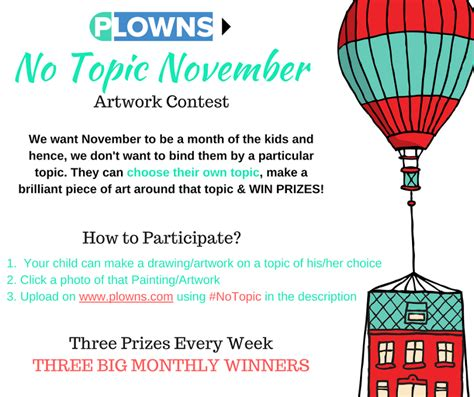 November Contest by November 2016 Drawing Writing Competition By Www Plowns