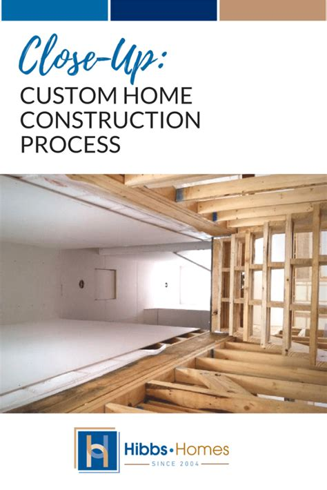 home building process custom homes building contractor house close up new home construction process