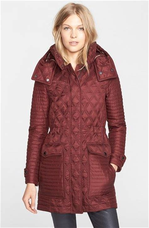 s burberry brit bosdale quilted coat with