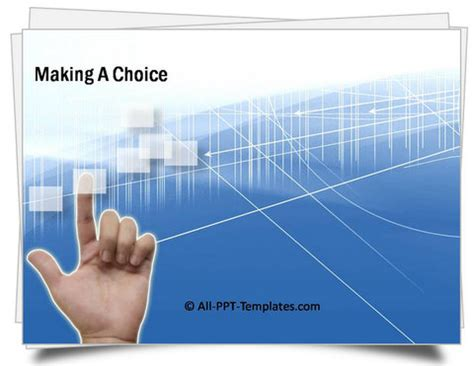 Choice Template Powerpoint Powerpoint Making Choice Template