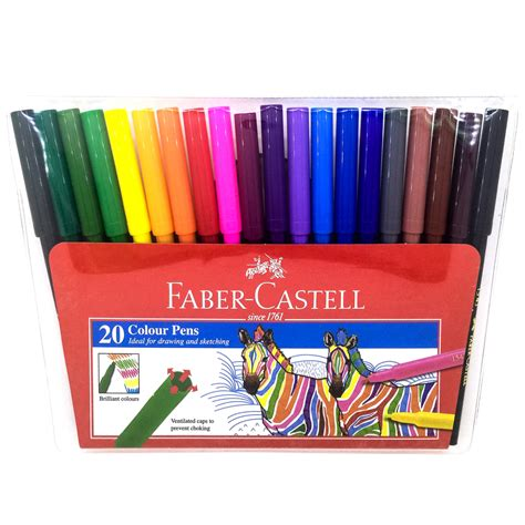 Colored Marker Pen faber castell color pen 20 colors magic pens 154320