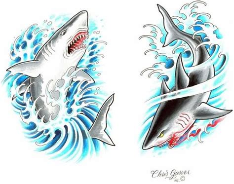 62 best shark tattoo designs amp ideas