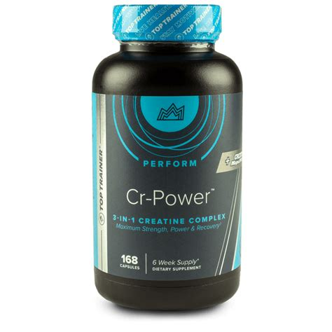 Reset Detox Stack by Cr Power 3 In 1 Creatine Supplement Complex By Toptrainer 174