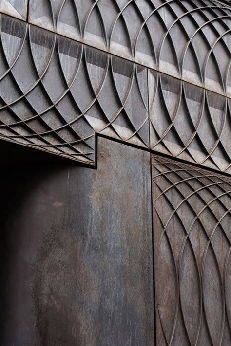 london pattern metal works paul smith albemarle street store facade by 6a architects