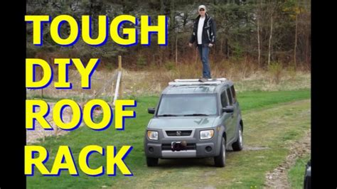 diy roof rack tough rugged