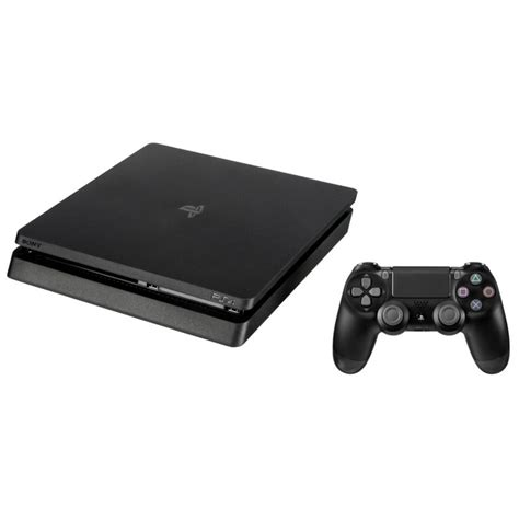 Sony Playstation 4 Slim sony playstation 4 slim 500gb black gaming consoles