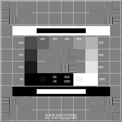 smpte test pattern ultrasound david clunie s medical image format site