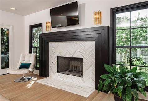 patterned fireplace tiles 19 stylish fireplace tile ideas for your fireplace surround
