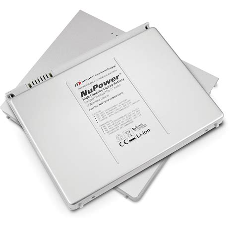 macbook pro early 2008 fan replacement newertech nupower replacement battery nwtbap15mbp56rs b h
