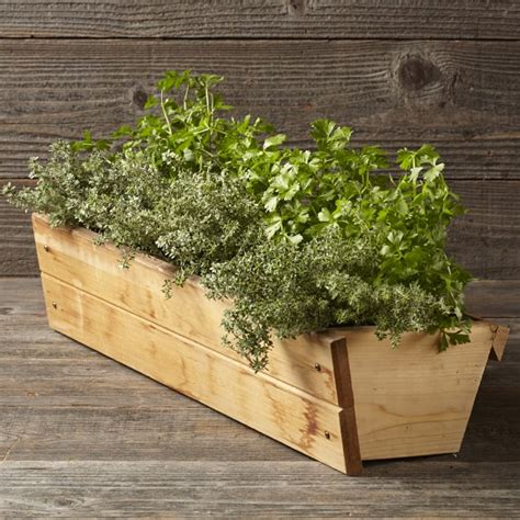 Vertical Planter Box by Vertical Gro Planter Box Williams Sonoma
