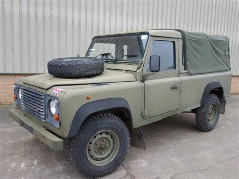 military land rover 110 land rover defender 110 300tdi pickup for sale mod
