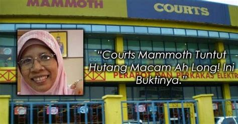 Oven Di Courts Mammoth quot courts mammoth tuntut hutang macam ah quot ini