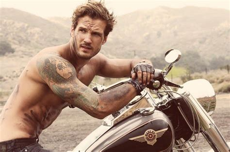 sexy tattooed guys bikes motorcycles bad boys ink what else does