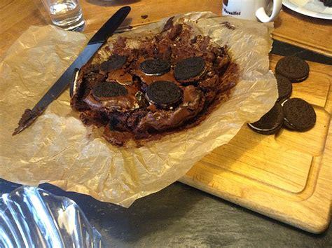 brownies kuchen oreo brownie kuchen rezept mit bild