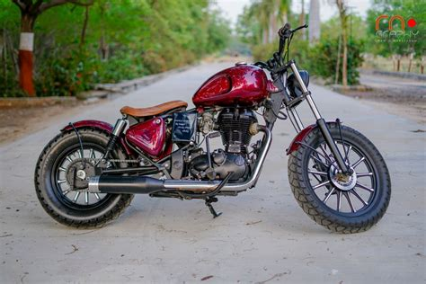 Modified Bobber this modified royal enfield standard 350 is a gorgeous bobber