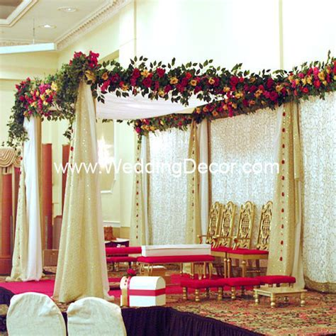 Wedding Mandap Toronto, Hindu Wedding Decoration for