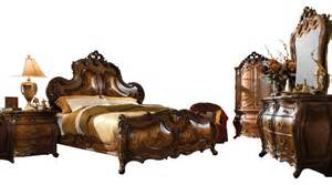palais royale 4 king size panel bedroom set rococo