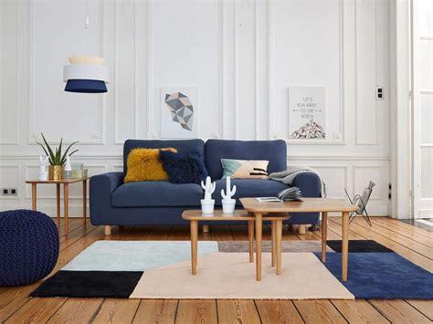 Salon En Bleu by Des Id 233 Es Pour Un Salon En Bleu Et Joli Place