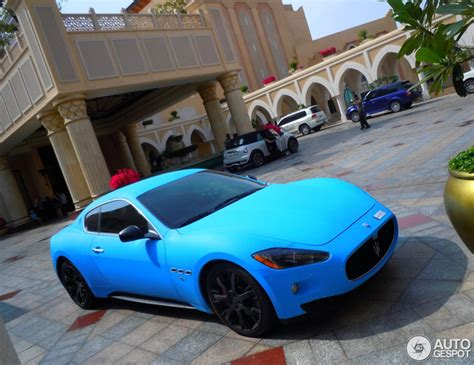 maserati light blue cool in baby blue maserati granturismo s