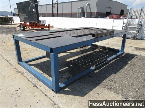 used welding table for sale used welding table aerial work platform for sale in pa 25096