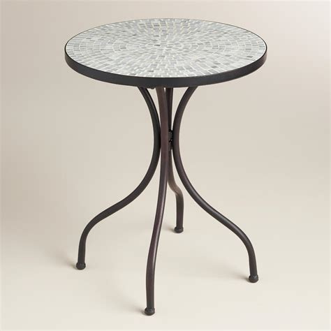 Gray Accent Table Gray Cadiz Accent Table World Market