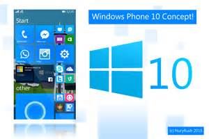 Windows 10 for mobile is here in a wonderful concept windows phone 9