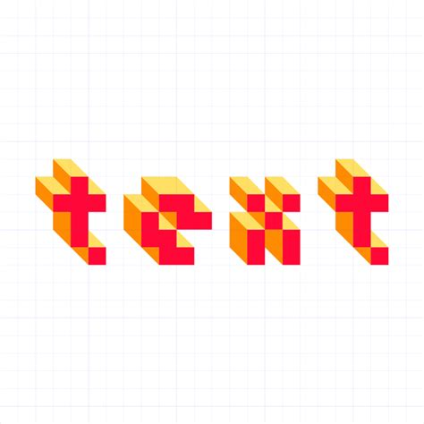 inkscape tutorial pixel art create 3d pixel text with inkscape logos by nick