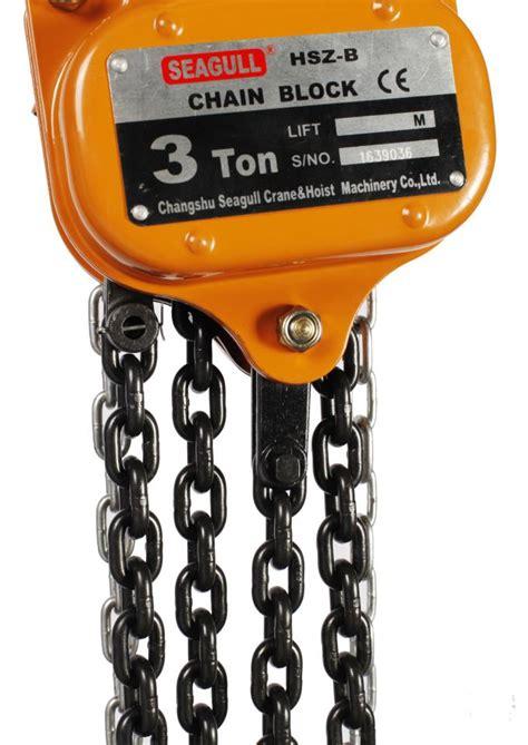 Tomeco 5 Ton X 3 Meter Chain Block Takel Model Triangle Hsz C alloy steel 3 t 3 ton manual chain block standard construction chain hoist