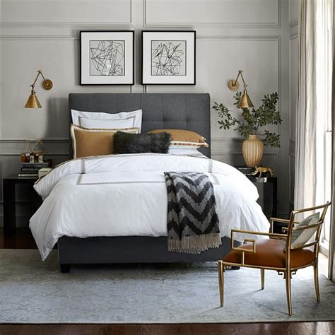 sonoma bedding framed border sateen bedding sale williams sonoma