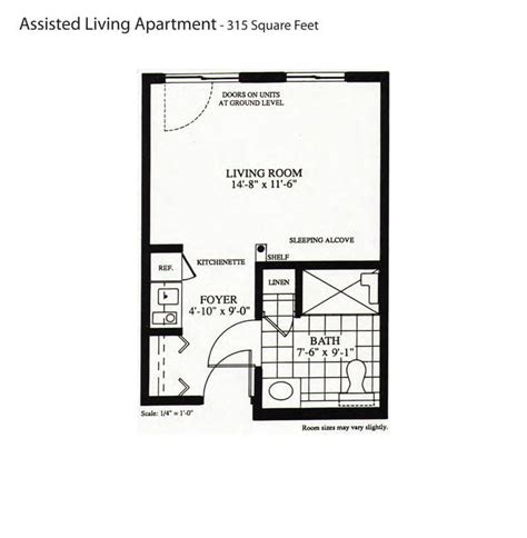 assisted living floor plan briarwood retirement senior living communities in
