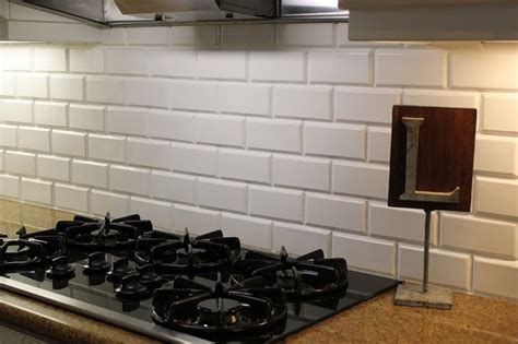 beveled subway tile backsplash white beveled subway tile backsplash kitchens