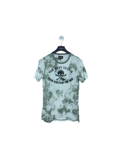 vivienne westwood t shirt vivienne westwood too fast to live t shirt in green